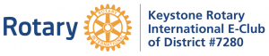 Keystone Rotary International E-Club  Logo